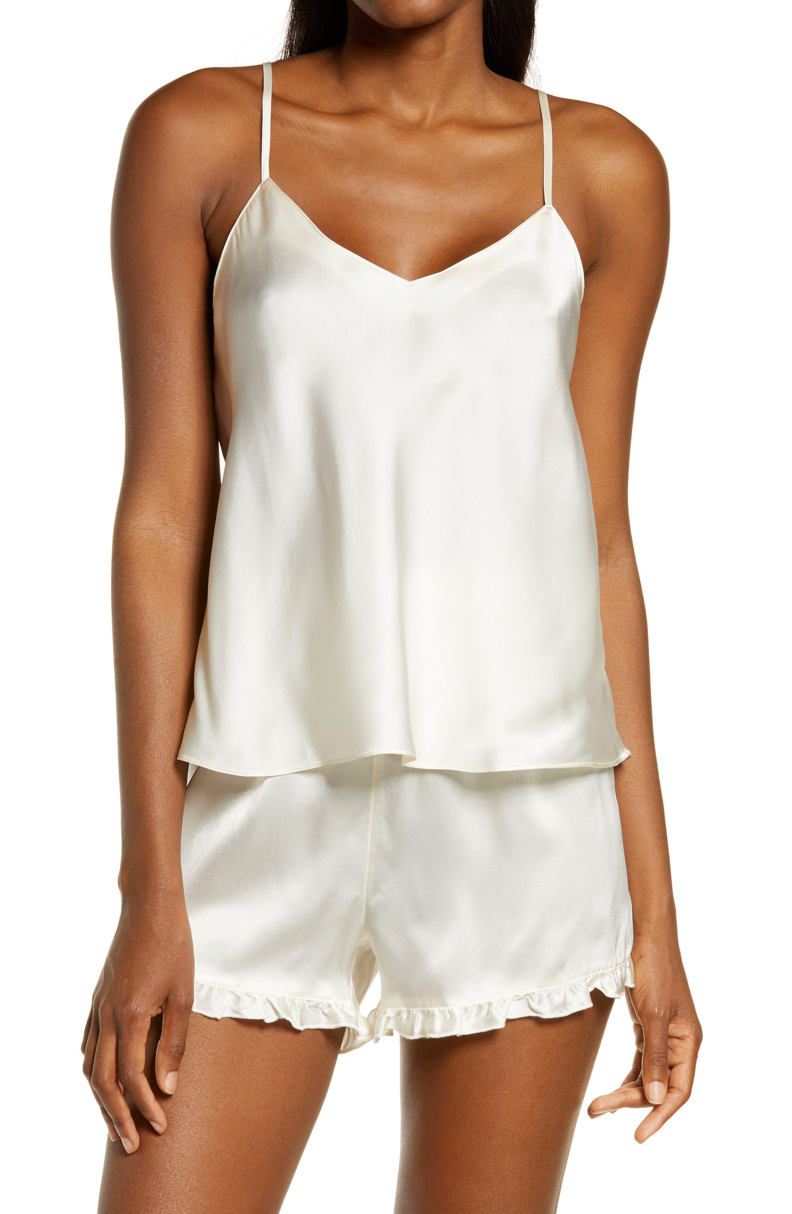 Pajamas Set Bridal Pajama Set Womens Silk Pajama Set Satin Short and Shirt FREE DELIVERY Gift for Her Silk sleepwear