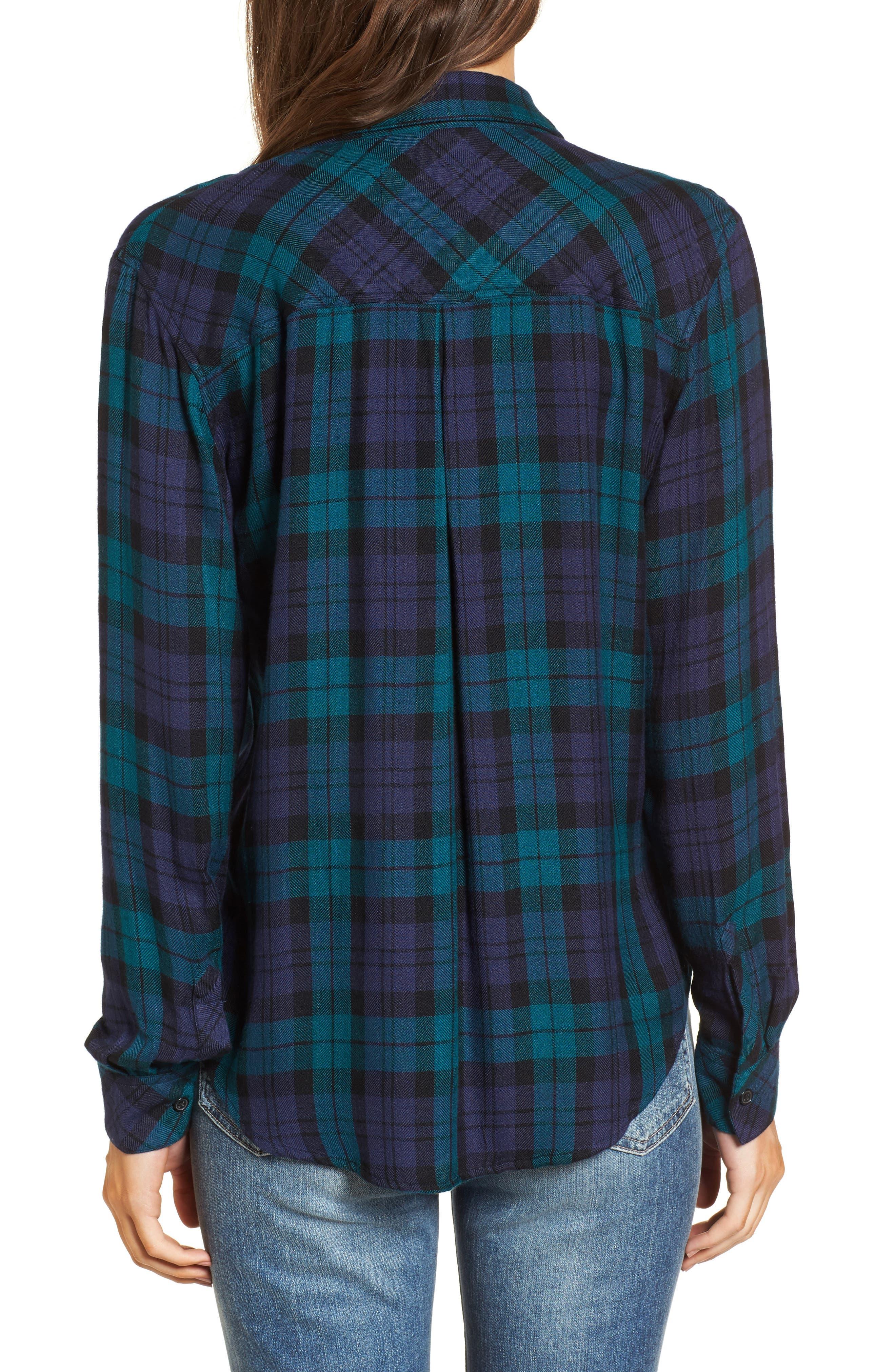 ,                             Hunter Plaid Shirt,                             Alternate thumbnail 841, color,                             443