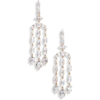 Nadri Chandelier Drop Earrings