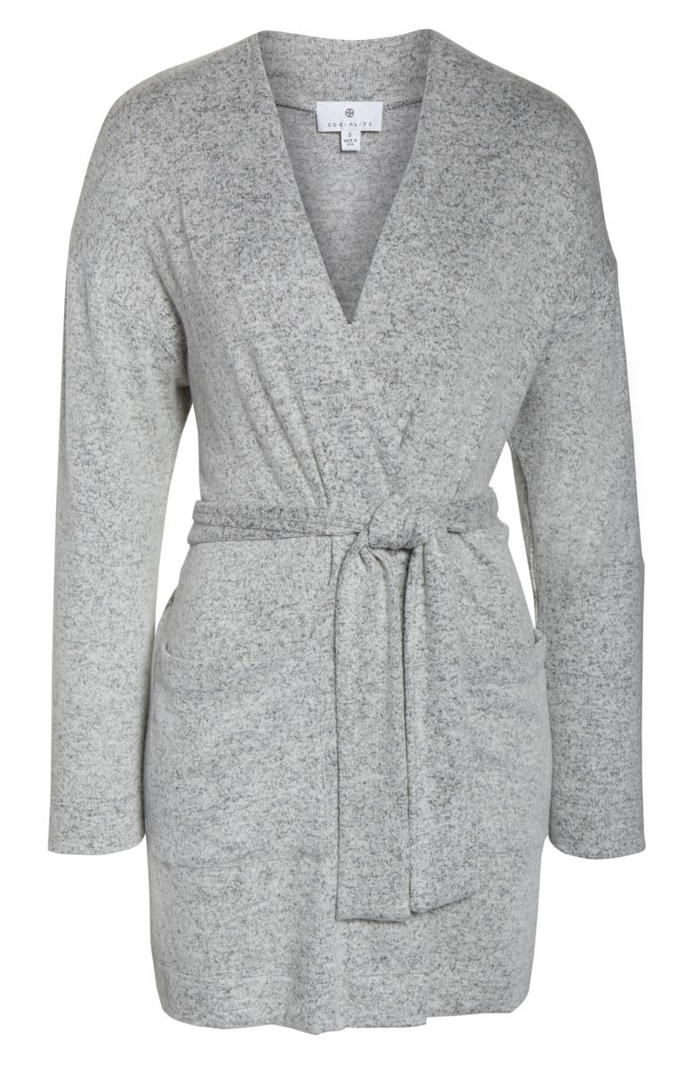 Come discover these Over 50 Fashion: Running Errands Comfy Cute Pieces! Brushed Hacci Wrap Robe. #fashionover50