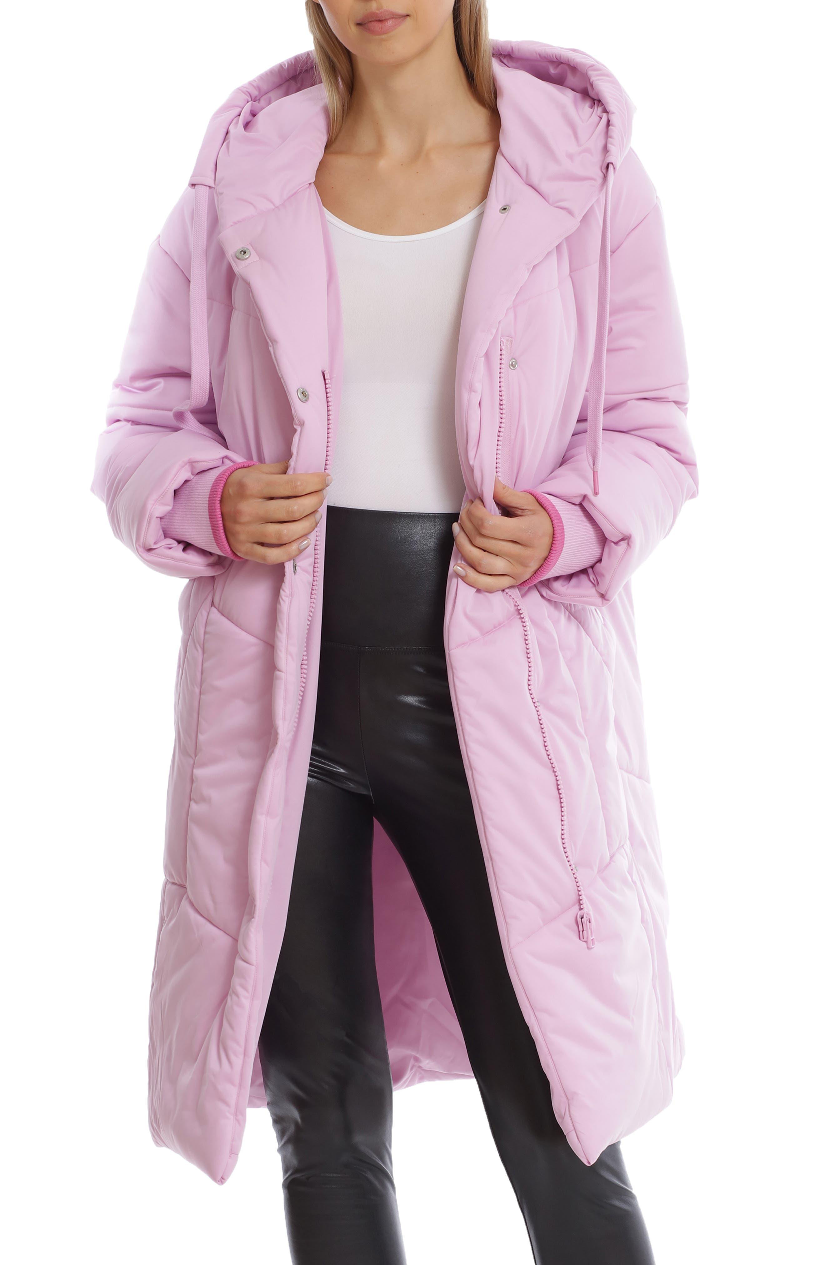 Hooded Duvet Puffer Coat