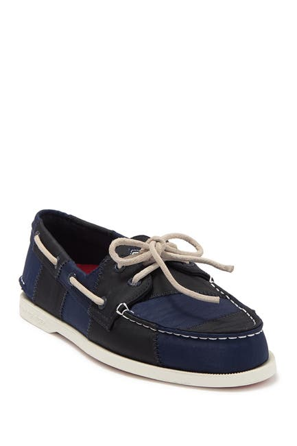Image of Sperry 2-Eye Sailcloth Boat Shoe