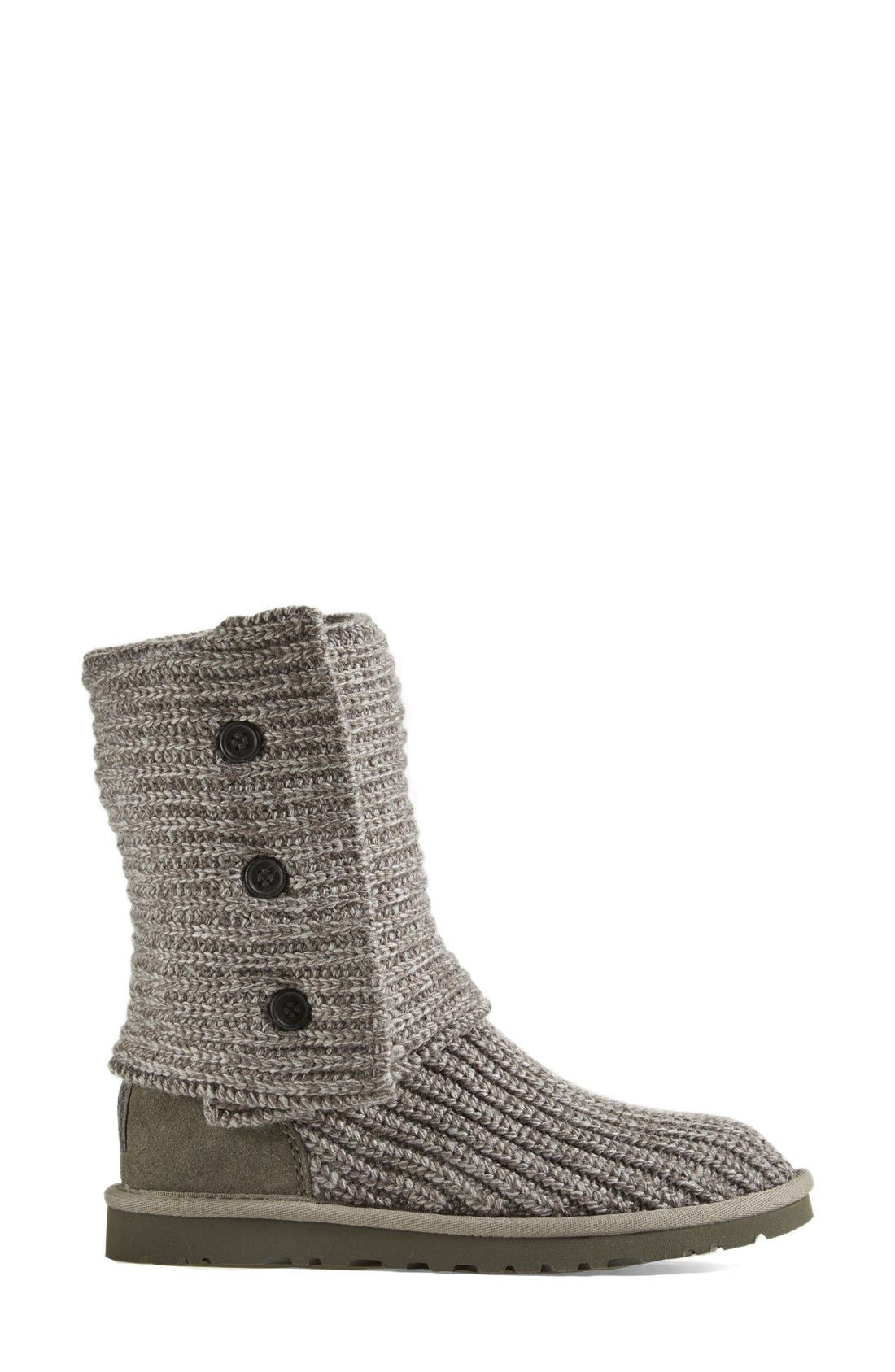 ,                             'Cardy' Classic Knit Boot,                             Alternate thumbnail 73, color,                             GRY