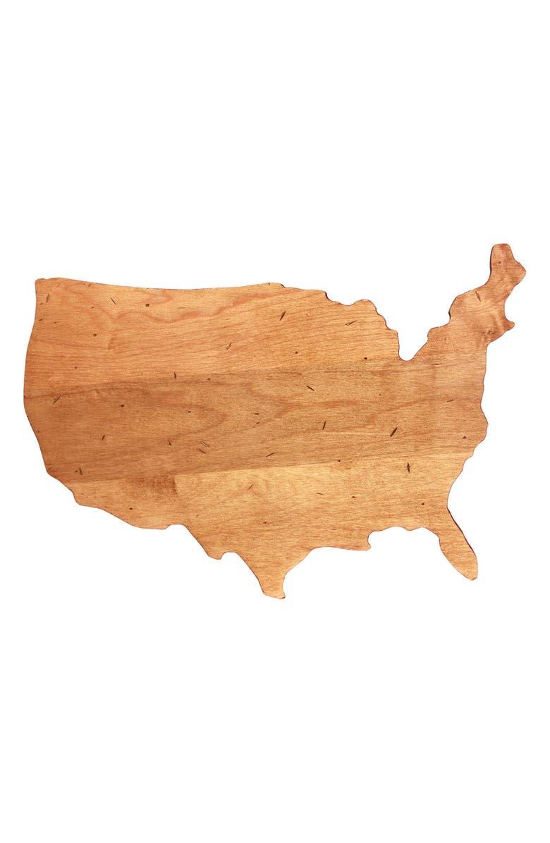 JK ADAMS USA Maple Serving Board, Main, color, NATURAL