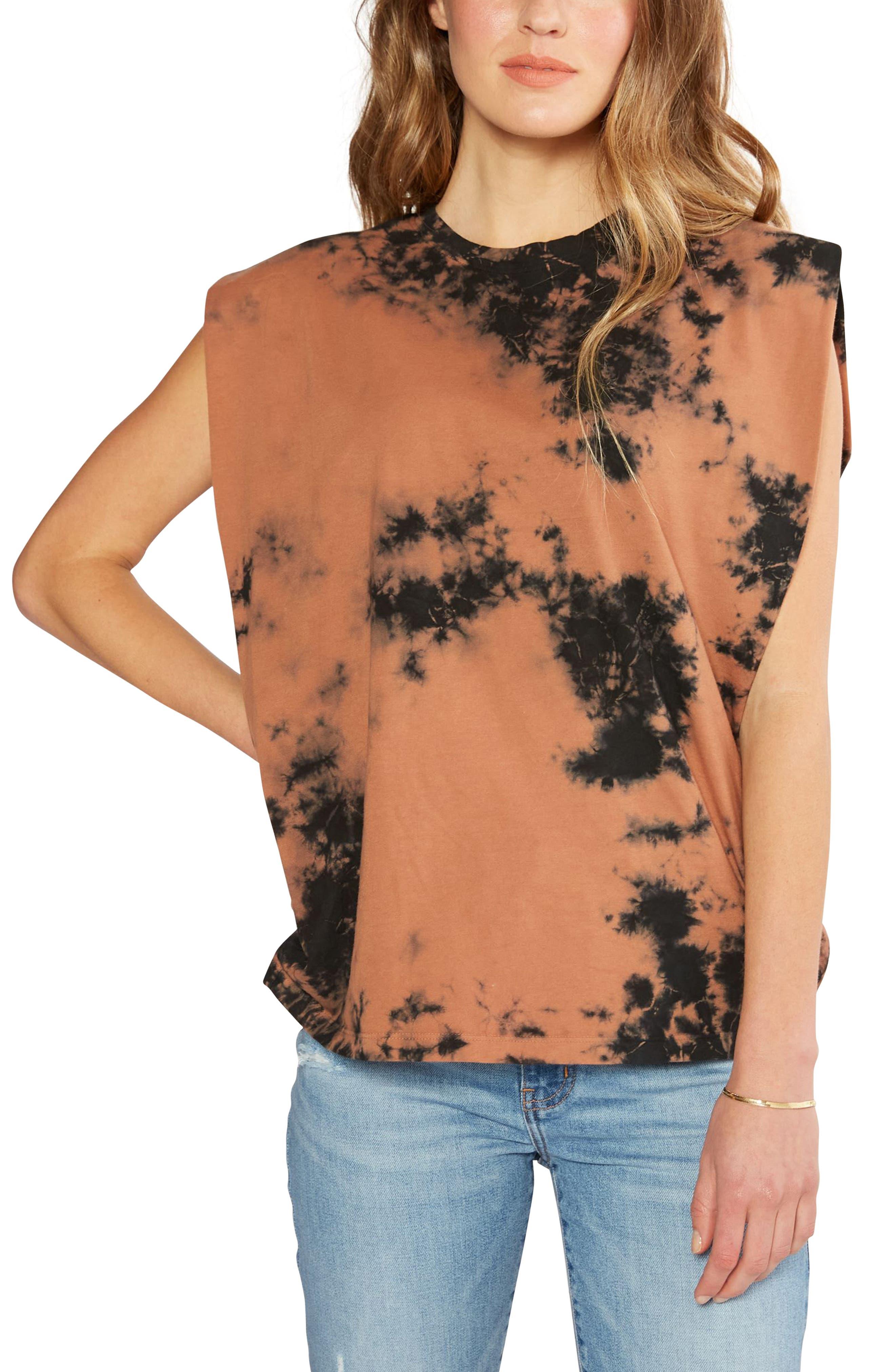 Women's Etica Anais Tie Dye Organic Cotton Muscle Tank