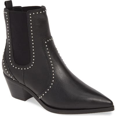 Paige Willa Studded Chelsea Boot, Black