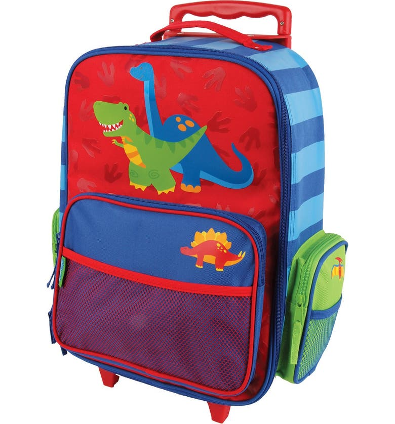 STEPHEN JOSEPH 18-Inch Rolling Suitcase, Main, color, DINO