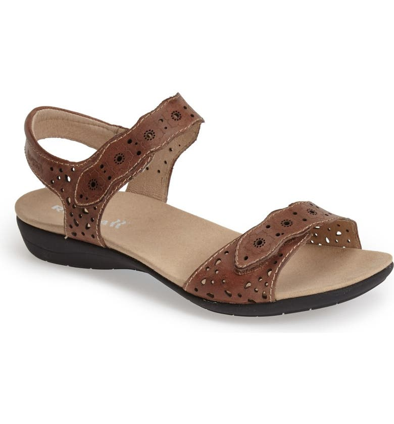 ROMIKA<SUP>®</SUP> 'Tahiti 03' Quarter Strap Sandal, Main, color, BARK