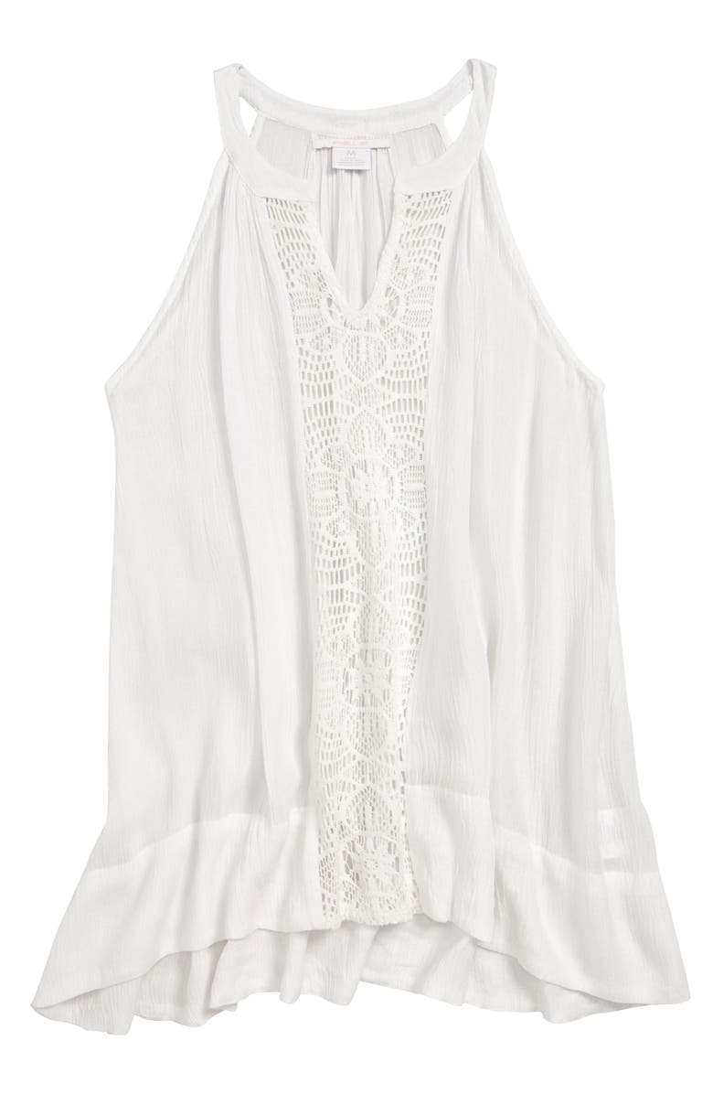 O'NEILL Rilee Cover-Up Tank Dress, Main, color, 100