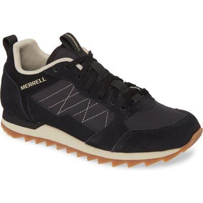 Merrell Alpine Sneaker, Black