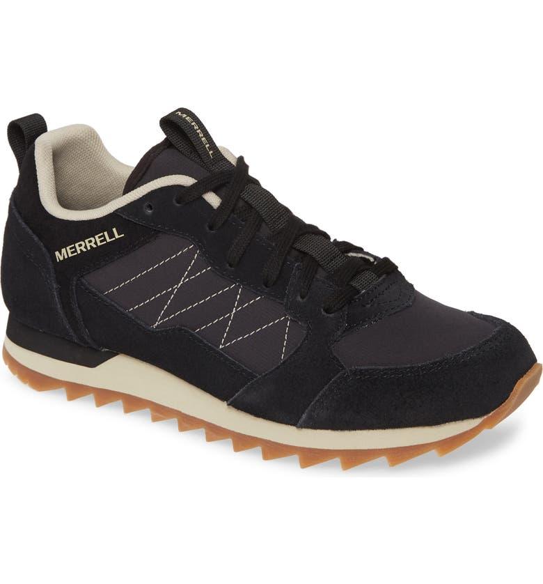 MERRELL Alpine Sneaker, Main, color, BLACK FABRIC