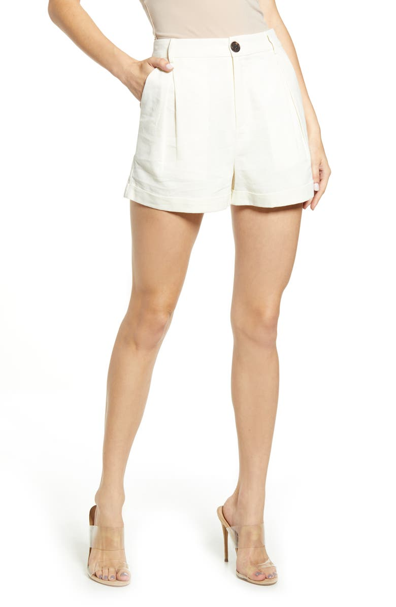 Pleated Shorts by English Factory