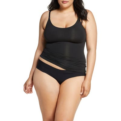 Plus Size Spanx Socialight Camisole, Black