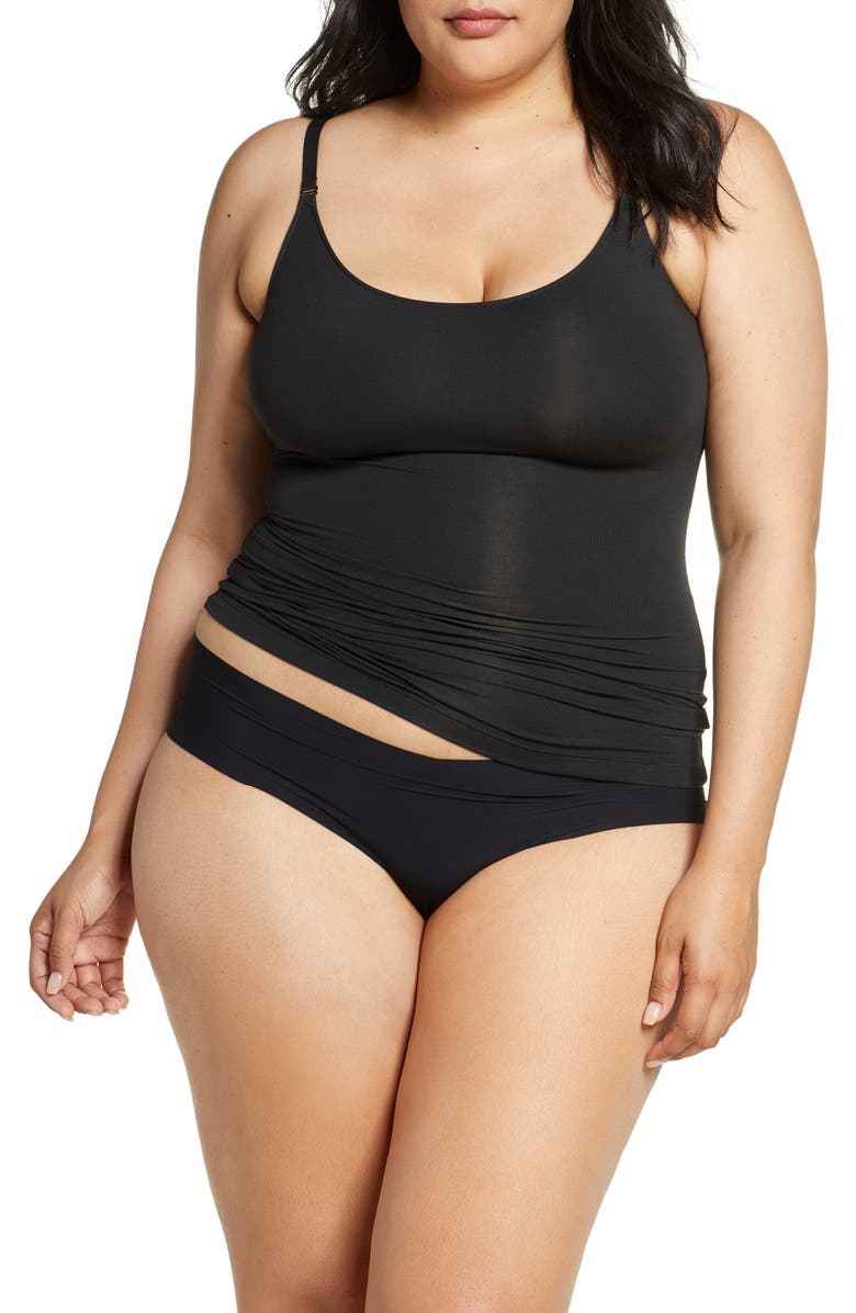 SPANX<SUP>®</SUP> Socialight Camisole, Main, color, BLACK TIE