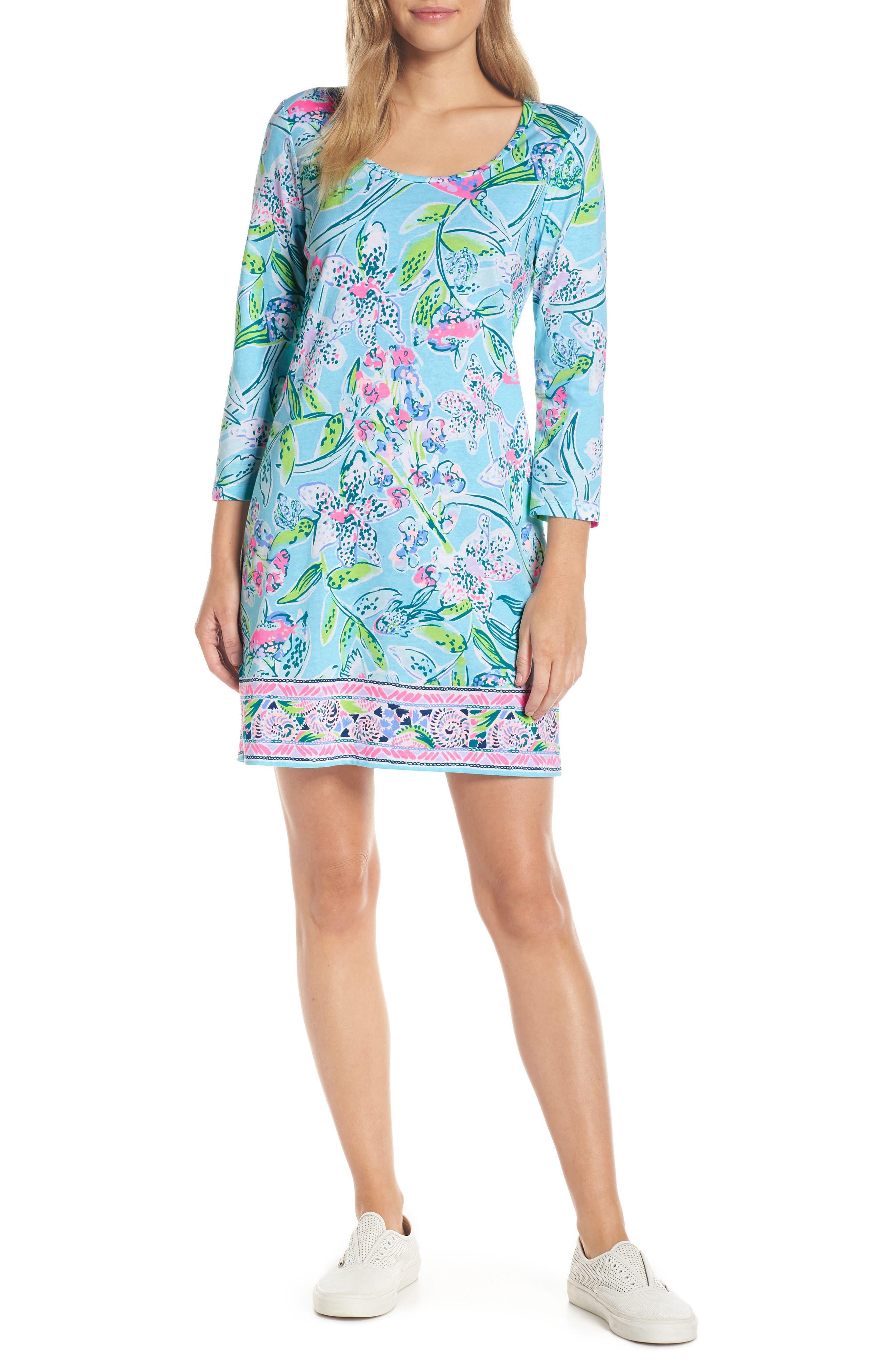 Lilly Pulitzer Beacon Shift Dress, Blue