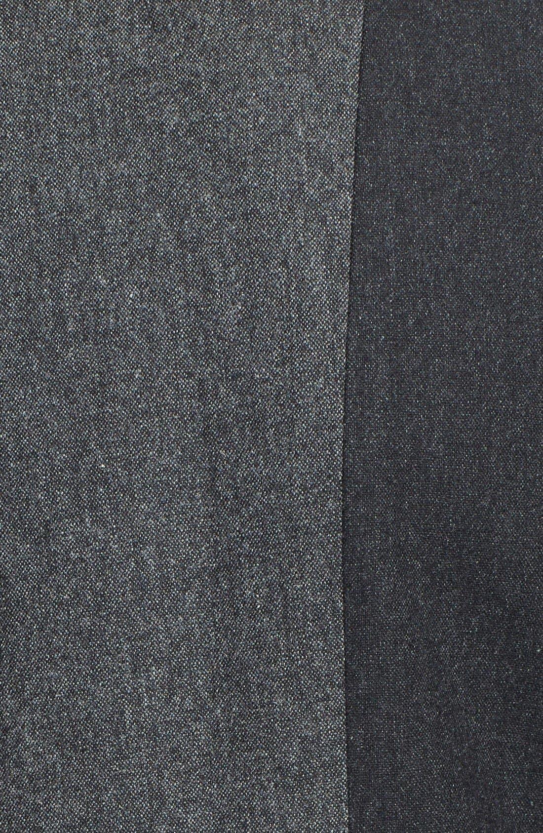 ,                             'Jesi' Colorblock Flannel Jacket,                             Alternate thumbnail 3, color,                             030
