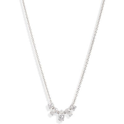 Nadri Cubic Zirconia Frontal Necklace
