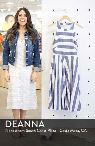 Cotton Fit & Flare Dress, sales video thumbnail