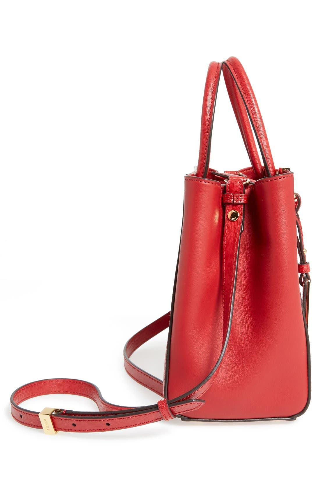 ,                             'Petite 2Jours Elite' Leather Shopper,                             Alternate thumbnail 82, color,                             600