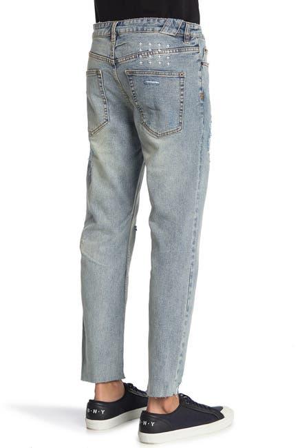 Image of Ksubi Chitch Chop Slice N' Dice Straight Leg Jeans