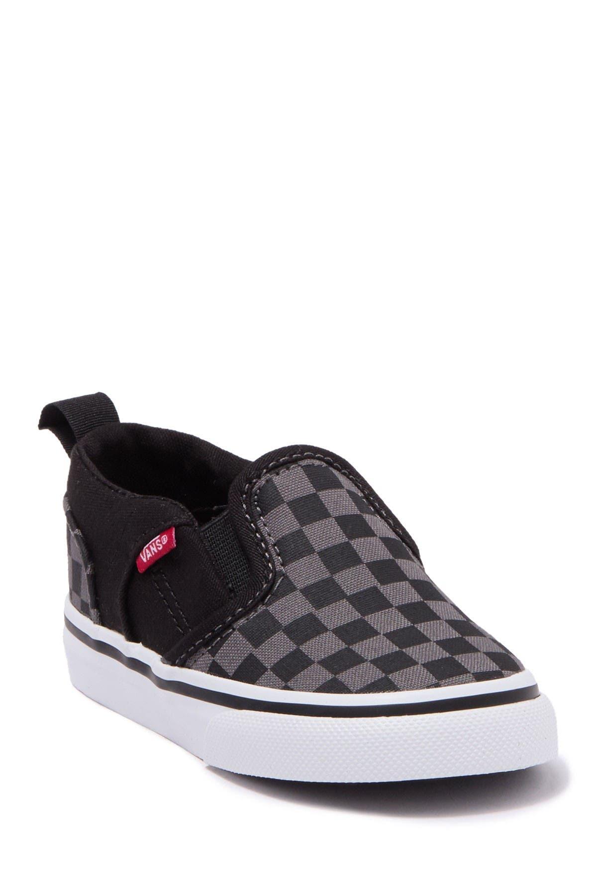 VANS | Asher V Slip On Checkerboard