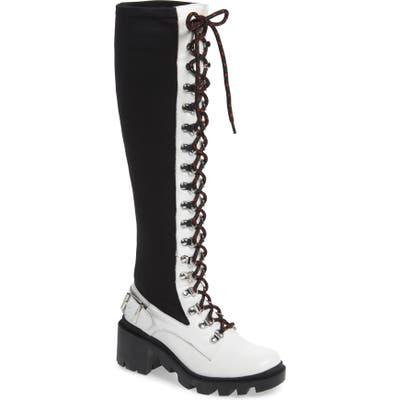 Silent D Nexton Knee High Boot, White