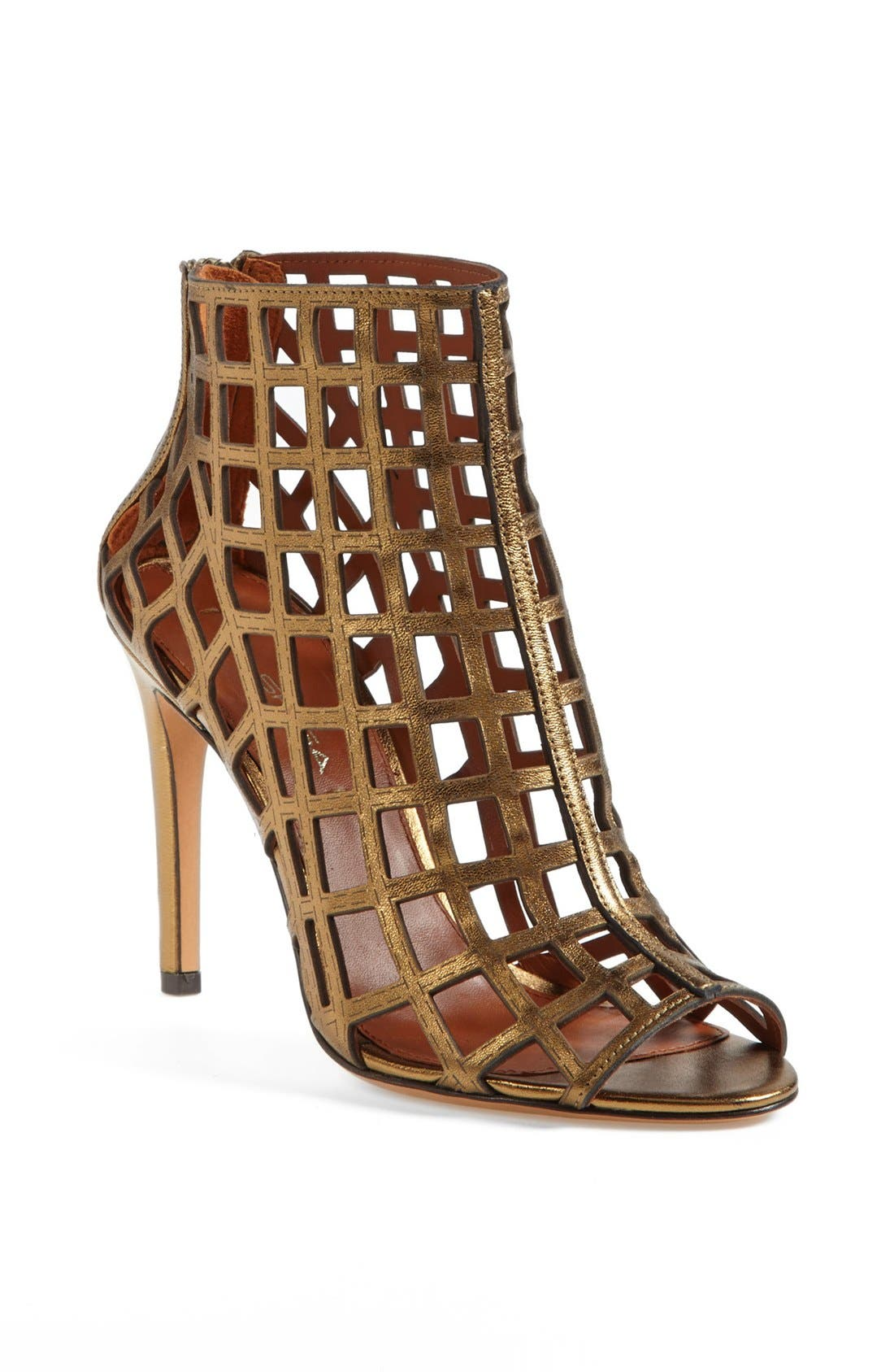 ,                             'Elenora' Cage Bootie,                             Main thumbnail 17, color,                             221
