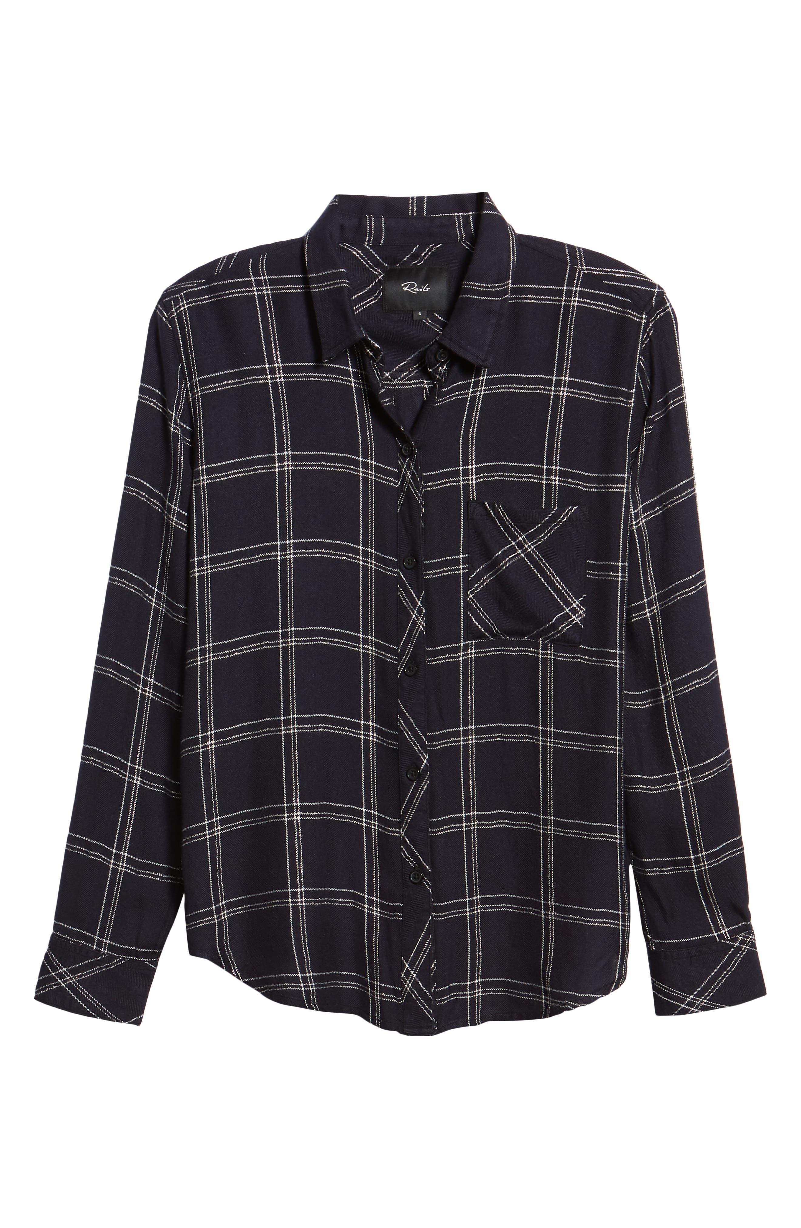 ,                             Hunter Plaid Shirt,                             Alternate thumbnail 357, color,                             414