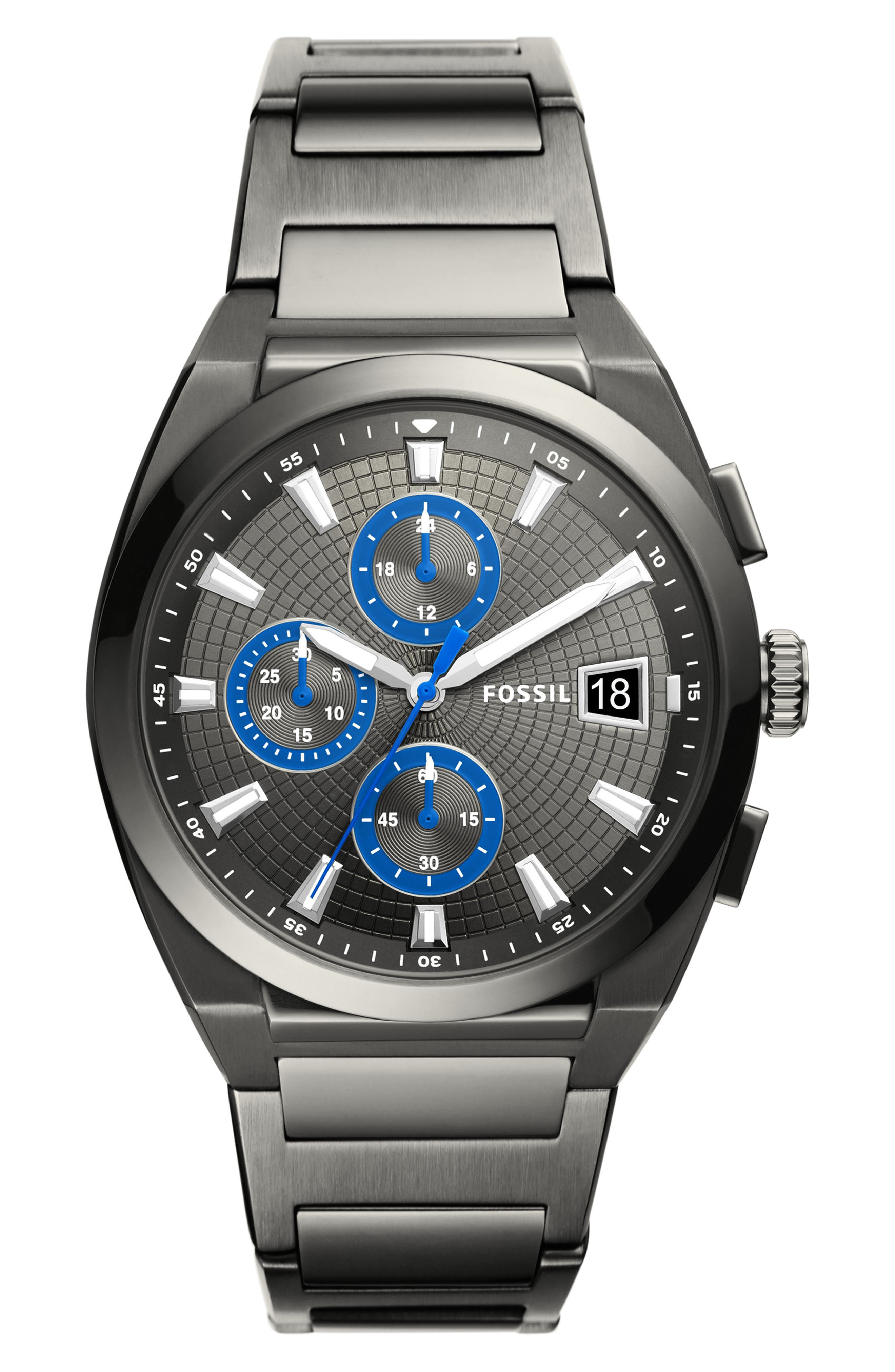 Everett Chronograph Bracelet Watch