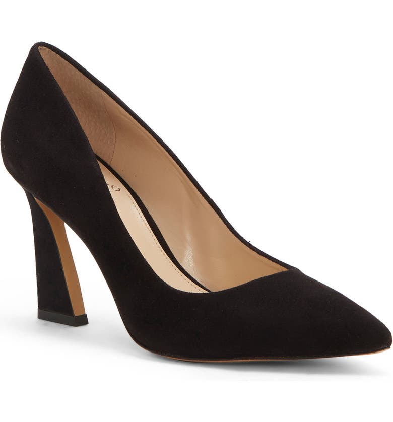 VINCE CAMUTO Thanley Pointed Toe Pump, Main, color, BLACK