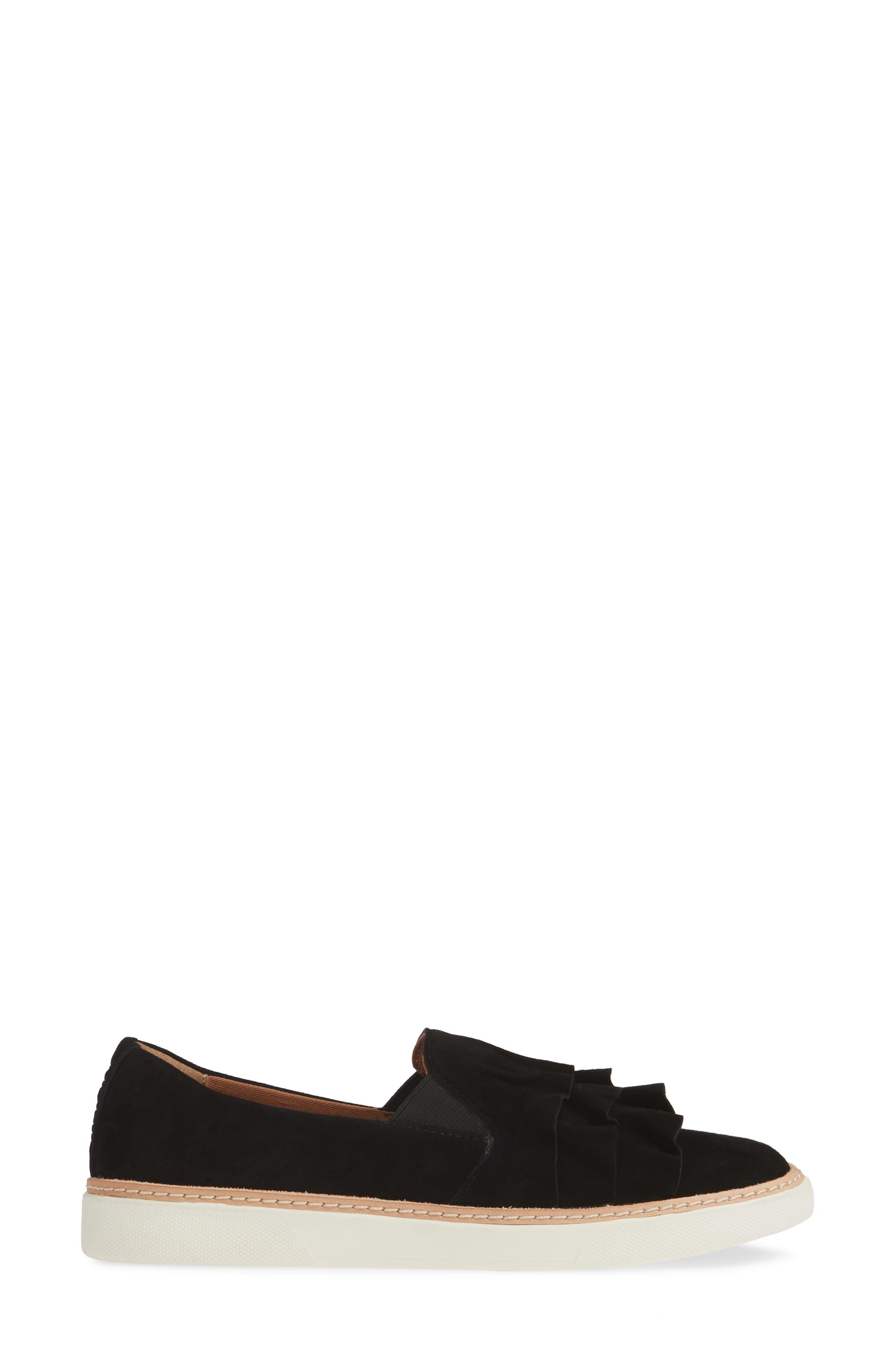 ,                             Mahalo Sneaker,                             Alternate thumbnail 3, color,                             BLACK SUEDE