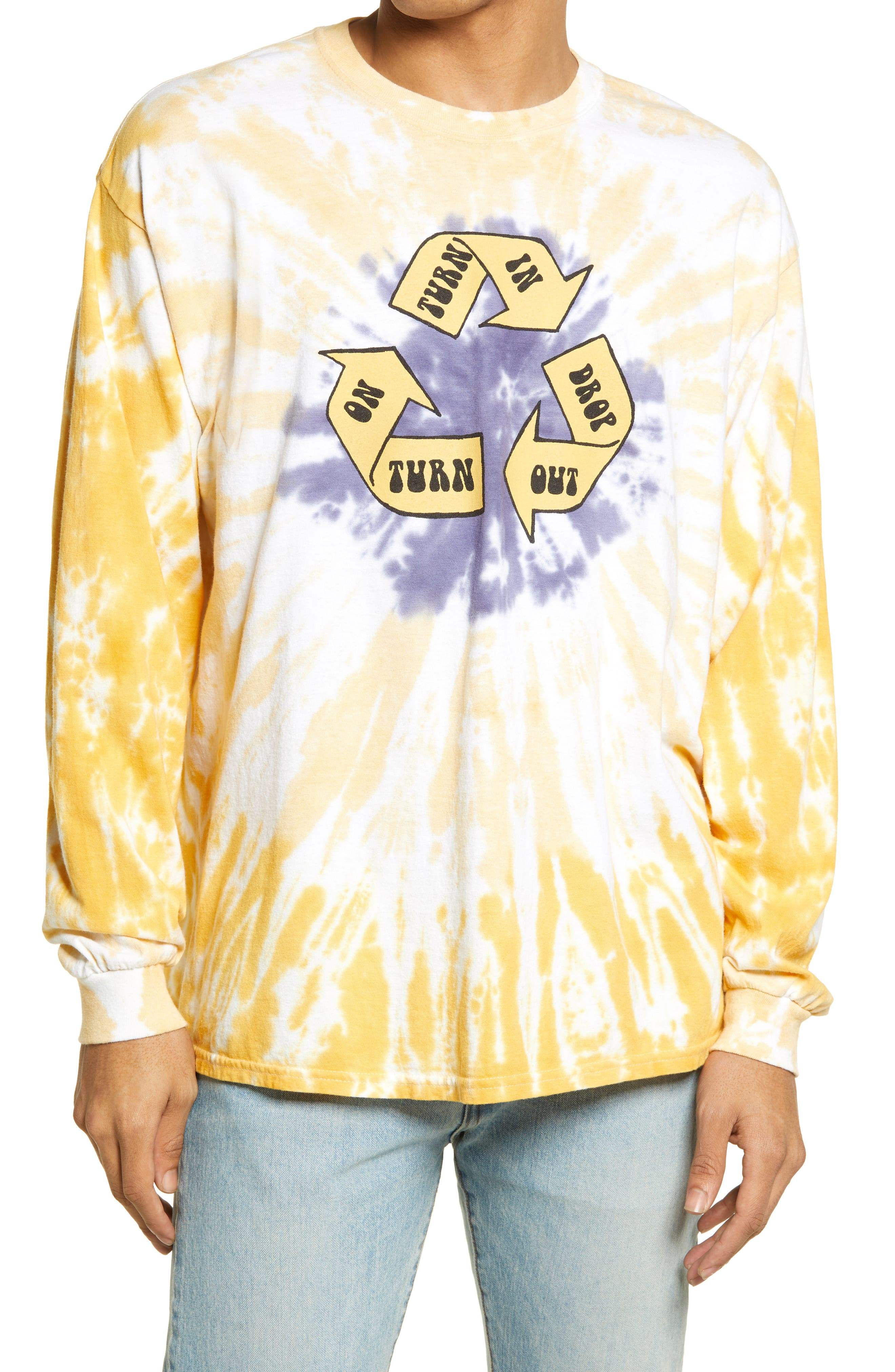 Turn On Tune In Drop Out Long Sleeve Graphic Tee