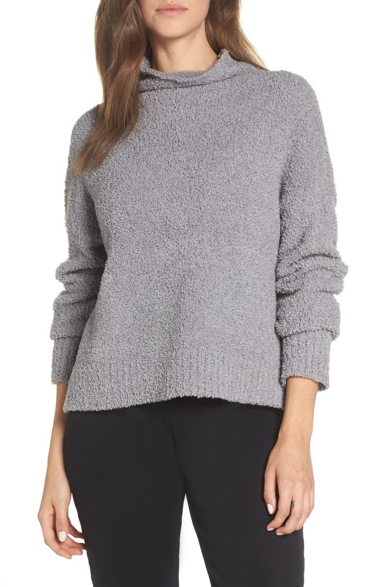 UGG<SUP>®</SUP> Sage Cowl Neck Pullover, Main, color, GREY