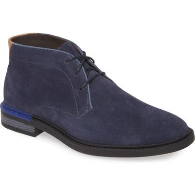 Hush Puppies Davis Chukka Boot, Blue