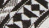 BLACK-WHITE AZTECA