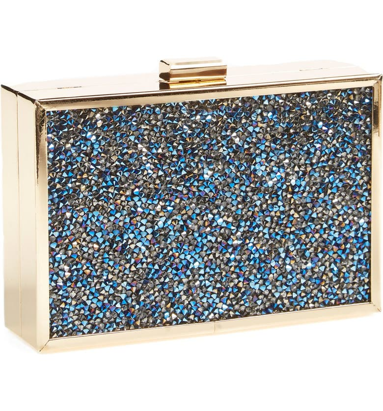 ZZDNU NATASHA COUTURE Natasha Couture 'Stardust' Box Clutch, Main, color, 400
