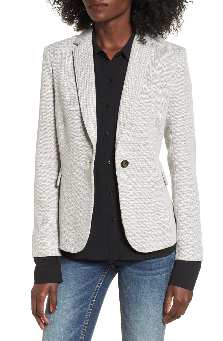 MURAL Herringbone Blazer, Main, color, 020