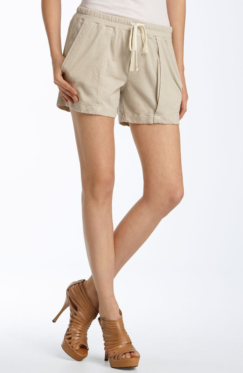 JAMES PERSE Knit Cargo Shorts, Main, color, 020