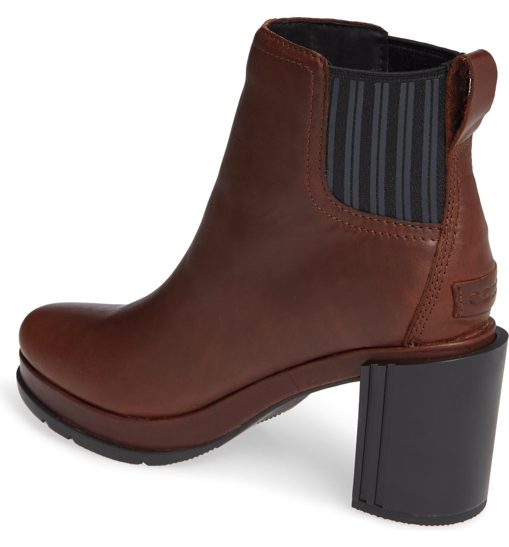 bf94056f51 SOREL Margo Waterproof Chelsea Boot (Women) | Nordstrom