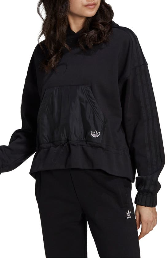 Adidas Originals Adidas Women's Originals Boxy Hoodie In Black