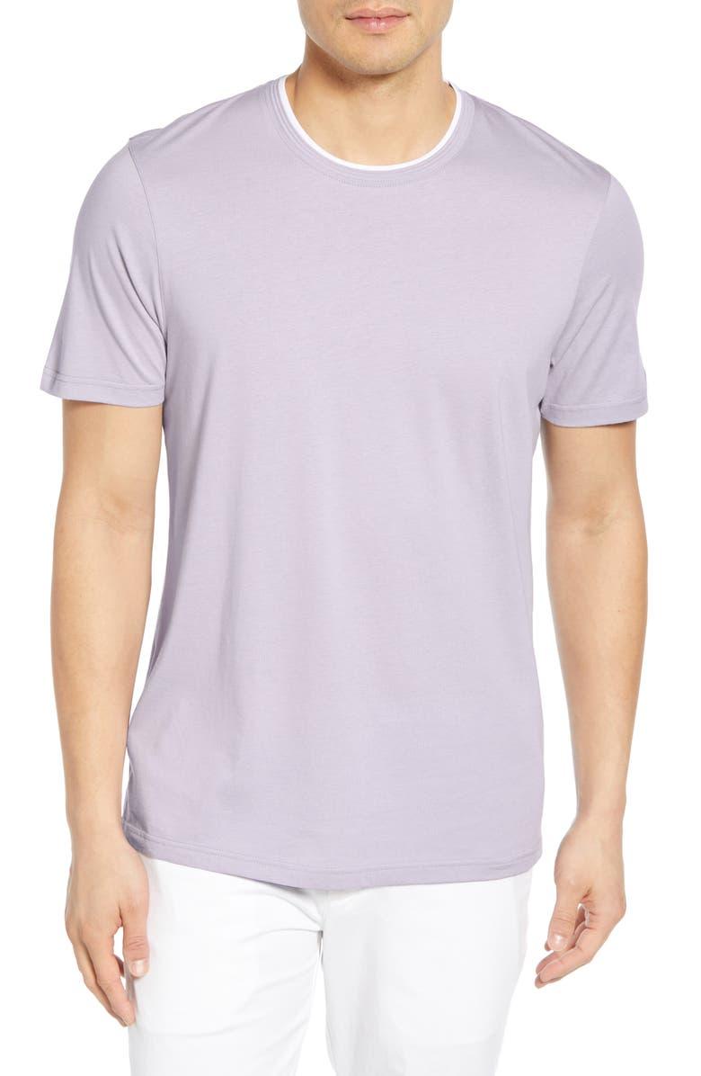 TED BAKER LONDON Sink Slim Fit T-Shirt, Main, color, LILAC