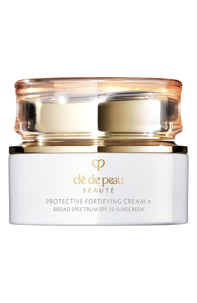 CLÉ DE PEAU BEAUTÉ Protective Fortifying Cream SPF 22, Main, color, NO COLOR