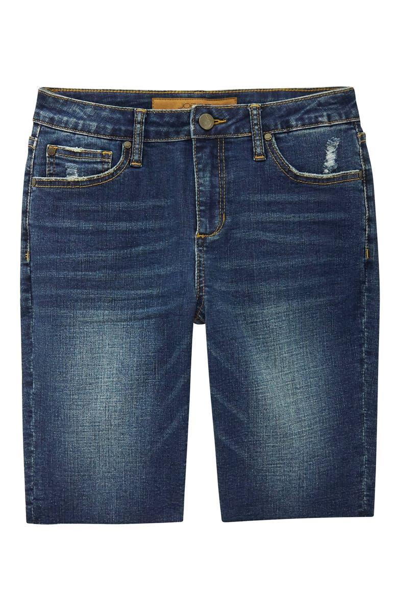 JOE'S Kids' Brixton Raw Hem Denim Shorts, Main, color, GLEAM