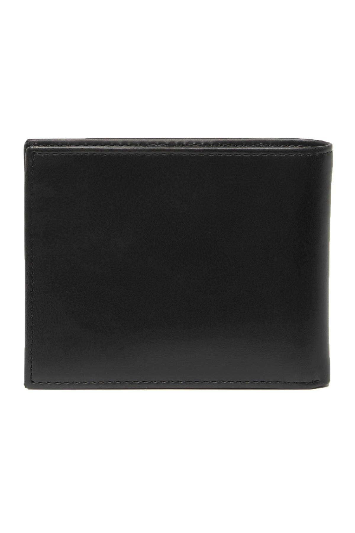 Image of GUESS Moxley Sewn Passcase Wallet