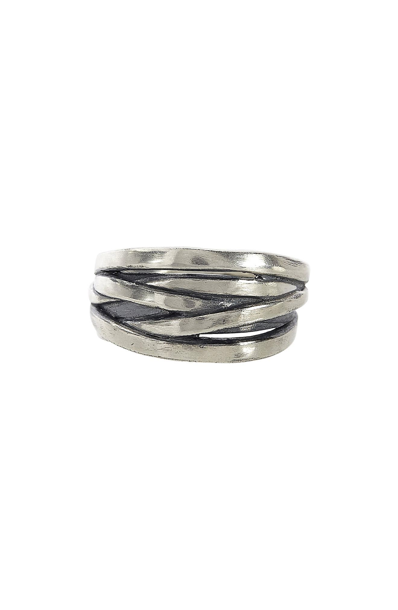Women's John Varvatos Tangle Sterling Silver Ring