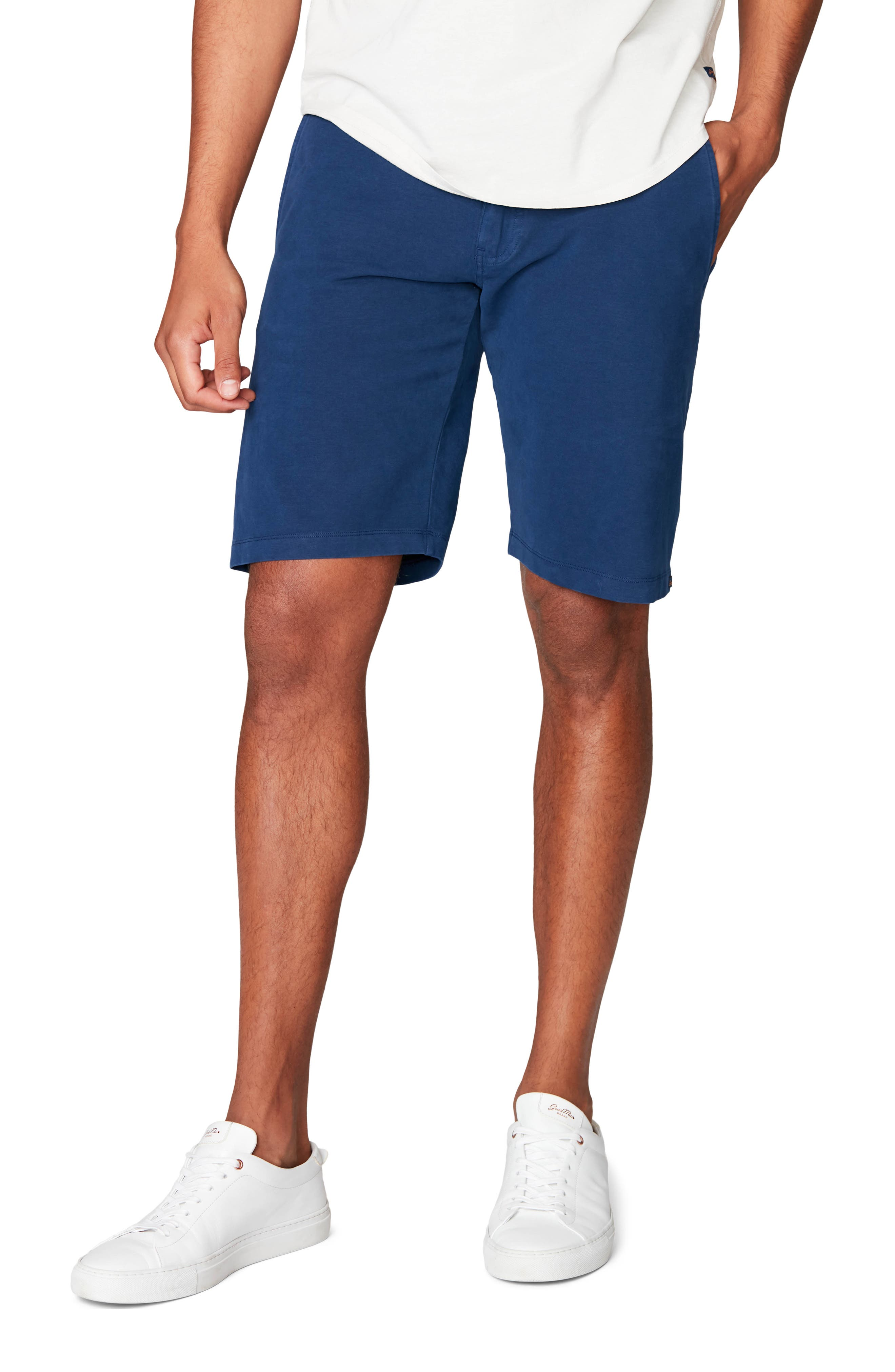 Jogger-style trunks have a tailored look, with supersoft cotton and spandex that offers four-way-stretch and shape recovery for all your active pursuits. Style Name: Good Man Brand Flex Pro Jersey Tulum Trunks. Style Number: 5979841 1. Available in stores.