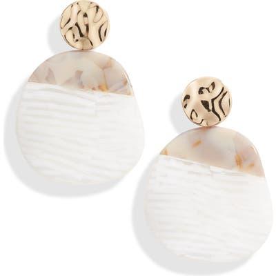 Halogen Colorblock Drop Earrings