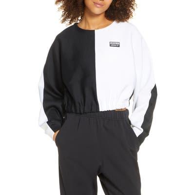 Adidas Originals Colorblock Crop Sweatshirt