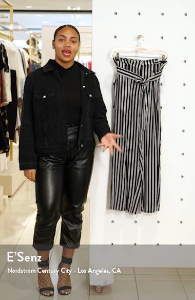 Shadow Stripe Silk Paperbag Pants, sales video thumbnail