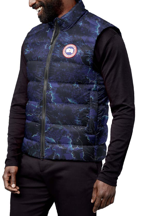 Canada Goose Downs CROFTON WATER RESISTANT PACKABLE QUILTED 750-FILL-POWER DOWN VEST